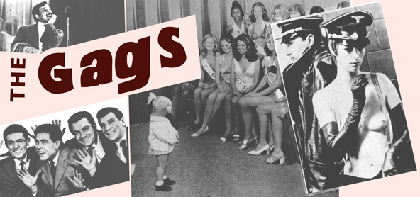 The Gags header
