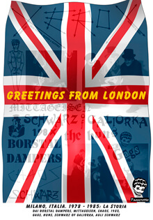 "Copertina libro ""Greetings from London"""
