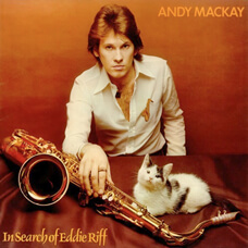 "Copertina del LP ""In Search of Eddie Riff"" di Andy Mackay"