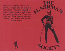 "Tessera ""Flashman Society"""