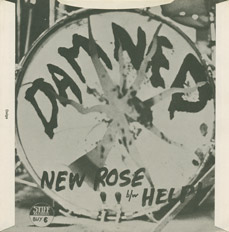 Retro copertina 'New Rose'